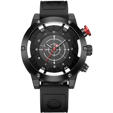 WEIDE WH6301 Two Movement Quartz Digital Men Watch