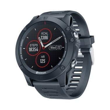 Zeblaze VIBE 3GPS 1.3-Inches IPS Color Touchscreen Multisport GPS Smartwatch
