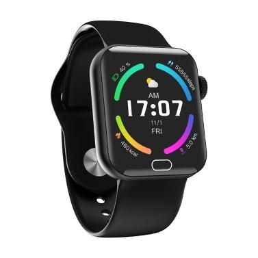 1,4 '' Smart Watch mit Thermometer Herzfrequenz Blutdruck Blutdruck Sauerstoffüberwachung Sicherer Schlaf Multi-Sport-Modus IP67 Wasserdichte Fitness-Smartwatches