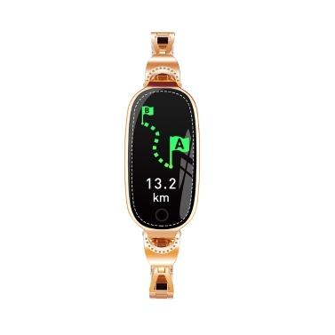 F18 Frauen Smart Armband 0,96 TFT-Bildschirm BT4.0 Smart Watch