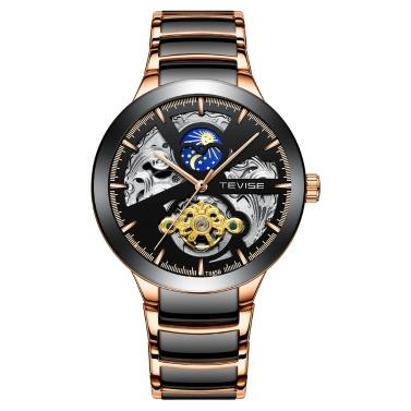 TEVISE T845B Business Men Mechanical Watch