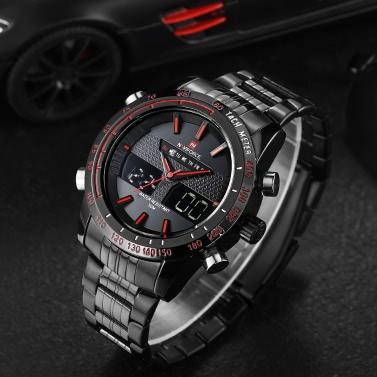 NAVIFORCE NF9024 Montre-bracelet à quartz sport