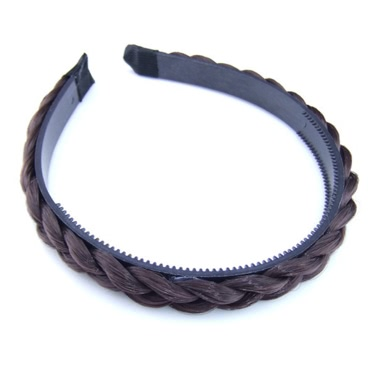 New Fashion Simple Twisted Wig Braid Hairband Toothed Headband Women Hair Accessories Decoration