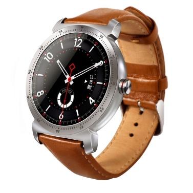 CACGO K88HPLUS Uhr Smartwatch Frauen Männer Herzfrequenz Kalorien Schlaf Monitor BT 1.3in IPS Bildschirm Leder Sportuhr Tragbare Geräte