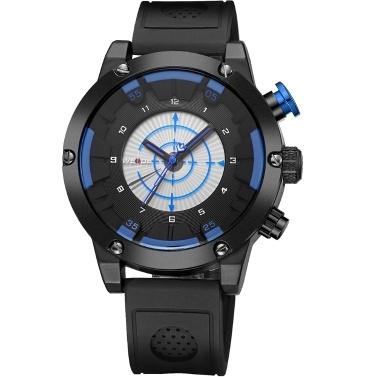 WEIDE WH6301 Two Movement Quartz Digital Men Watch