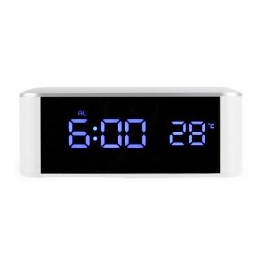 Home LED Elektronische Uhr Spiegeluhr