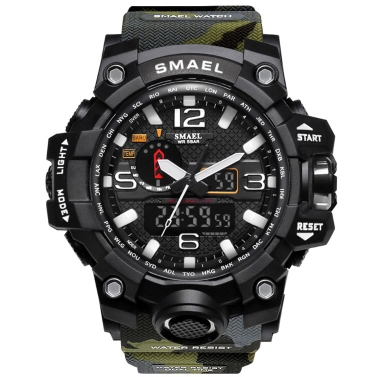50% OFF SMAEL 1545 Stylish Sports Watch,