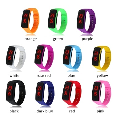 JY0932 Multi-function Digital Electronic Watch Fashion Casual Outdoor Sports Wristwatch Hour Minute Display Watch for Business Student