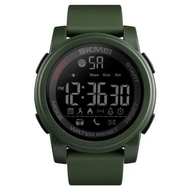SKMEI 1442 Multifunktionale 5ATM wasserdichte Herren Smartwatch