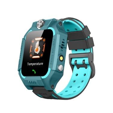 W02 1,44 дюйма, детские умные часы, термометр, двусторонний вызов, голосовой чат, LBS, местоположение, SOS, браслет экстренной помощи