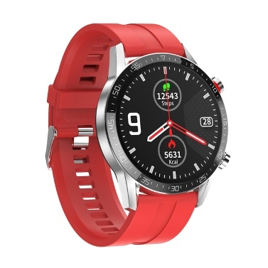 "1,3 ""Smart Watch Full Touchscreen Herzfrequenz- und EKG-Monitor Blutdruck- und Sauerstofferkennung Sicherer Schlaf Multisportmodus IP68 Wasserdichte Smartwatches Healthy Tracker Kompatibel mit Android / iOS"
