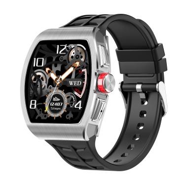 TK18 1,4-Zoll-Smartwatch Cooles mechanisches Zifferblatt-Smart-Armband