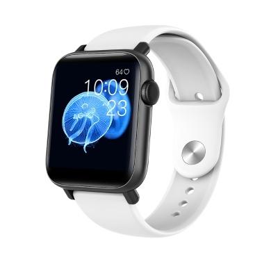 1,54 '' Smart Watch mit Thermometer Herzfrequenz Blutdruck Blutdruck-Sauerstoff-Überwachung Sicherer Schlaf Multi-Sport-Modus IP67 Wasserdichte Fitness-Smartwatches
