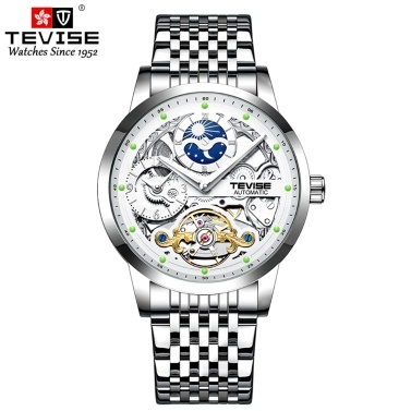 TEVISE Men Automatic Mechanical Watch