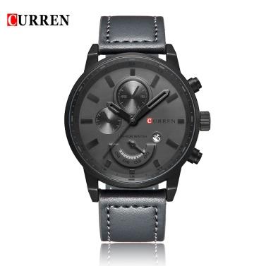 CURREN 8217 Fashion Quartz Men Watch