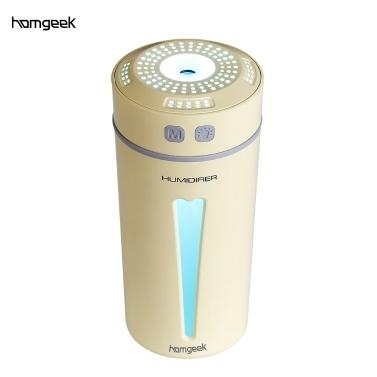 Homgeek Aroma Machine USB Luftbefeuchter Zerstäuber Farbe Atmosphäre Lampe