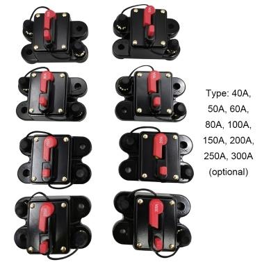 Mini-Größe leichte tragbare automatische Auto-Leistungsschalter 12V-24V DC Thermo-Leistungsschalter Einfache Installation Gerät