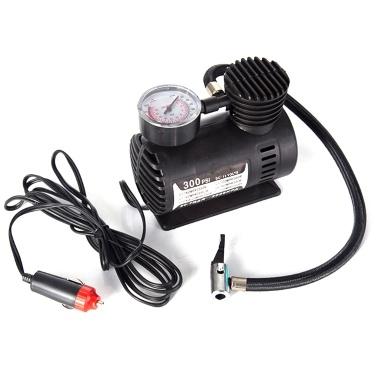 Auto Mini Elektrische Luftpumpe Tragbare Reifenluftpumpe 300PSI Auto Kompressor Pumpe für Auto Motorrad Basketball