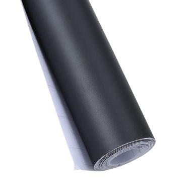 Auto mattschwarzer Aufkleber Selbstklebender Karosserieschutz Vinylfolie DIY Wrap Decal 300 * 3000mm