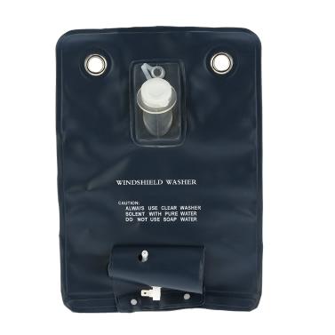 12V Universal Windschutzscheibe Unterlegscheibe Pumpen Tasche Kit mit Jet-Schalter für Oldtimer
