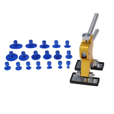 Cuerpo de Coche Extractor de Dent Lifter Herramienta de Reparación + 18 Pestañas Herramienta de Remoción de Granizo