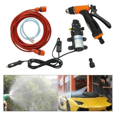 52% OFF 12V Electric Pump Pressure Car Washer Device,limited offer $23.99