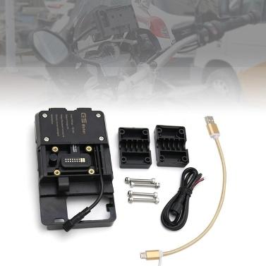 Zubehör für die Handynavigationshalterung mit USB-Ladegerät Für BMW R1200GS LC Adventure S1000XR R1200RS