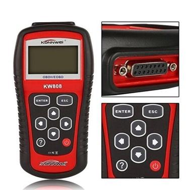 KONNWEI OBDII / EOBD Autocodeleser und Auto Scanner Detection Decoder KW808