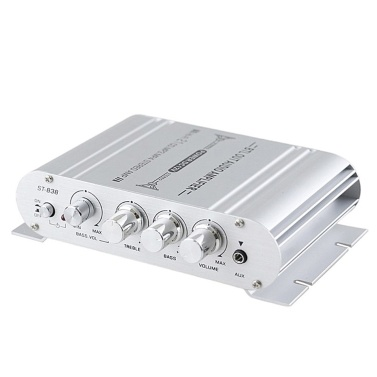 Mini Digital Hi-Fi Power Amplifier 2.1CH Subwoofer Stereo Audio Player Car Motorcycle Home Power Amplifier