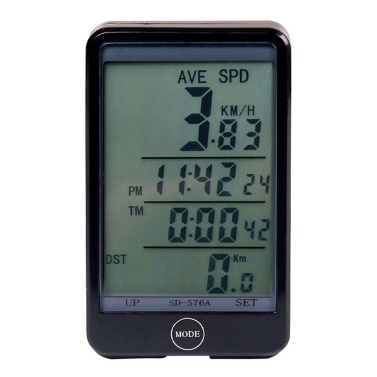 Waterproof Bicycle Computer With Backlight Wireless Bicycle Computer Bike Speedometer Odometer Bike Stopwatch