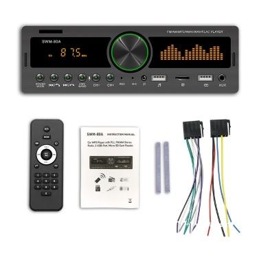Auto-U-Disk-Karte BT für Autos MP3-Player TF-Karte FM-Radio Verlustfreier Musik-Player Auto-MP3-Player (Positionierung wird nicht unterstützt)