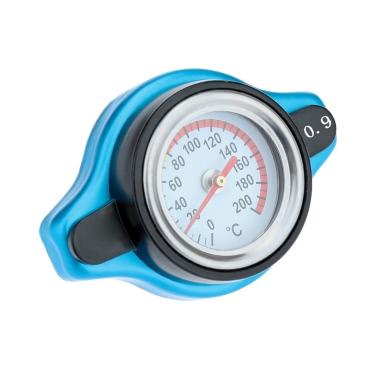 Universal-Thermo Thermostat Kühlerdeckel Deckel mit Wassertemperaturanzeige
