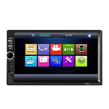 7 inch Car Video 7018B 2din 1080P Car Radio MP5 DVD Player