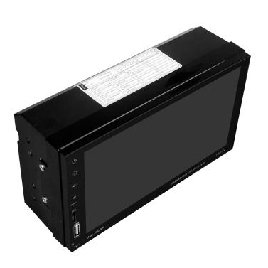 7 zoll Touchscreen 2 Din BT Auto MP5 Player Autoradio Audio Stereo FM RDS mit Kamera Unterstützung Spiegel Link