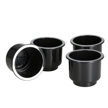 4 teile / satz Einbau Drop In Kunststoffschale Getränkehalter Für Boot Auto Marine Universal
