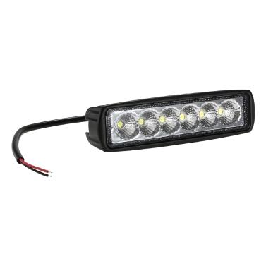 Arbeitslicht-Auto-Flutlicht 12V 18W LED, das weg von der Straße für SUV 4WD Boots-LKW fährt