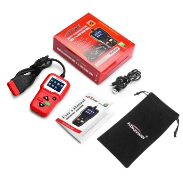 KONNWEI OBD KW680 Universal Automotive Engine Diagnostic Code Reader Scanner Car Diagnosis Tool Full OBDII EOBD Functions