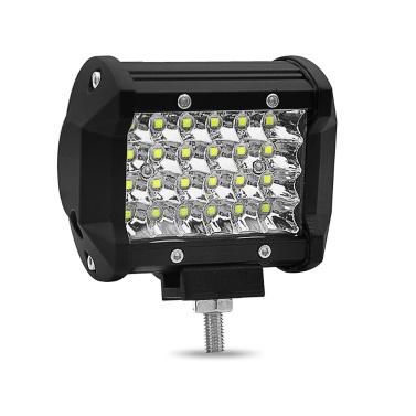 4inch 72W LED-Licht-Stab-Viererkabel-Reihe Punkt-Strahl LED-Würfel-Arbeits-Lichter, die Nebellampen 24 Lampen-Korne fahren