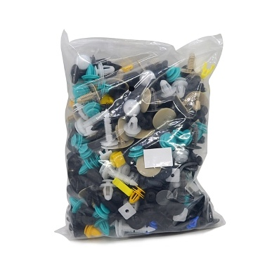 500Pcs Universal Mixed Vehicle Bumper Clips Retainer Fastener Rivet with Car Removal Tool