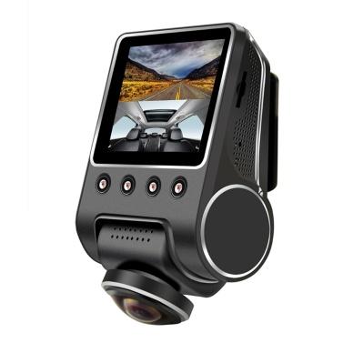 8 € de réduction pour KKMOON 1080P 2,5 pouces 360 degrés panoramique WiFi voiture Fisheye caméra DVR seulement € 60,58
