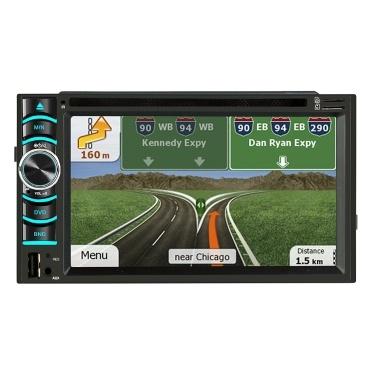 € 25 de réduction pour 6.2 pouces Écran capacitif Android GPS Navigation Stéréo FM Radio Version DVD Player seulement € 122,83