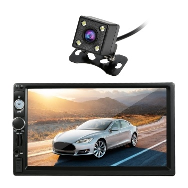 45% de réduction sur le lecteur de radio de voiture stéréo 7 '' Universal GPS Navigation Android 7.1 2 Din BT seulement € 114,65 sur tomtop.com + livraison gratuite