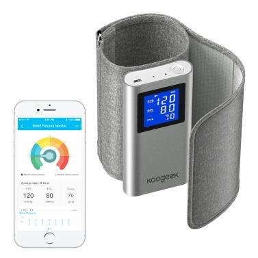 45% OFF Koogeek FDA Approved Smart Upper Arm Blood Pressure Monitor,limited offer $41.99