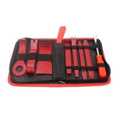 Vislone 19 Stücke Trim Removal Tool Kit Auto Autoradio Türverkleidung Clip Zangen Verschluss Entferner Hebeln Reparatur Handwerkzeug