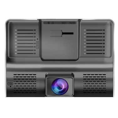 Auto DVR Kamera 4.0in 3 Way Objektiv Video Driving Recorder Rückansicht Auto Registrator Mit 2 Kameras Dash Cam DVRS Carcorder Nachtsicht Parkplatz Monitor