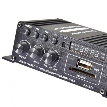 400W DC12V BT Verstärker HiFi Autoradio Musik Receiver FM MP3 Endstufe