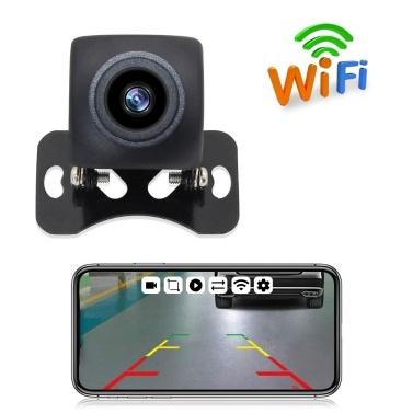 Wireless Backup Camera HD WIFI Rear View Camera WiFi Backup Camera with Night Vision