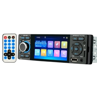 4.1-inch High Definition Capacitive Touching Screen BT Car MP5 Player