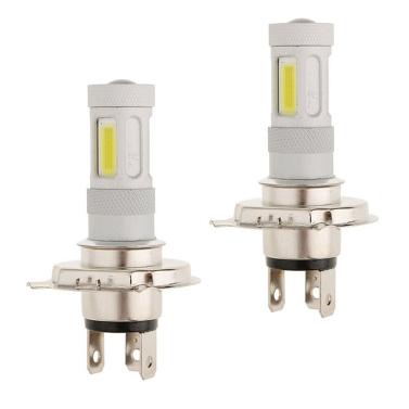 2 Stück High Power COB LED Nebelscheinwerfer H4 Auto Driving Lampe 80 Watt