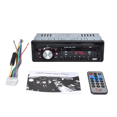 55% OFF 1 Din Car Radio Player Auto Audio MP3 FM Radio,limited offer $13.99